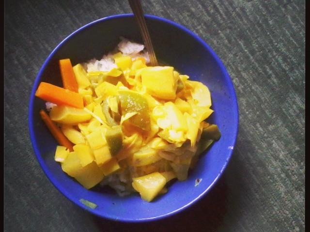 Recept zeleninové kari